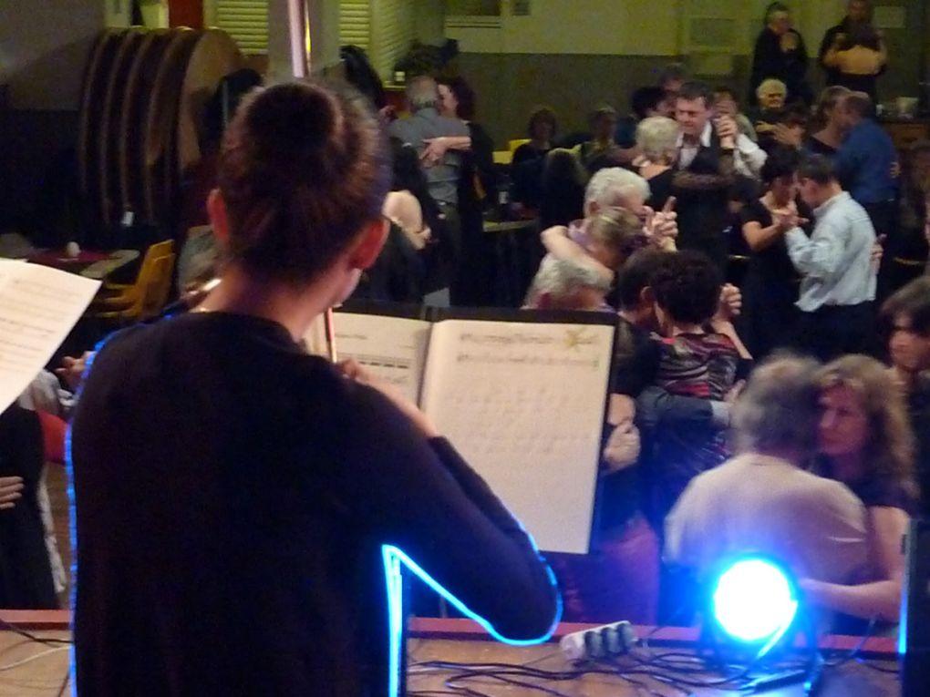 Milonga du 8 Février 2014 avec le QQuartet Chiquilin.