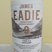 James Eadie - Caol Ila 9Y - Passion du Whisky