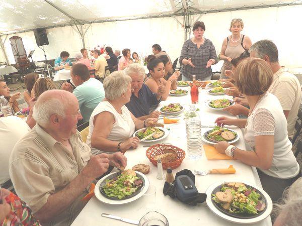 Fete annuelle de Vebre en Ariege Le Pèlerin