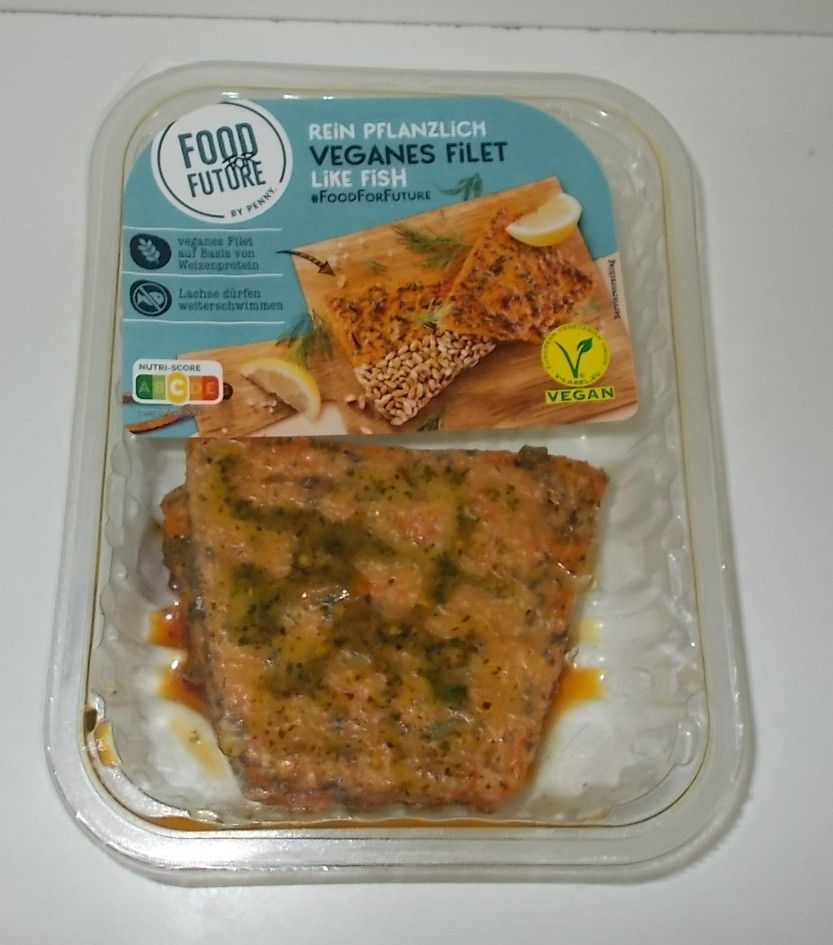 Penny Food for Future Veganes Filet like Fish