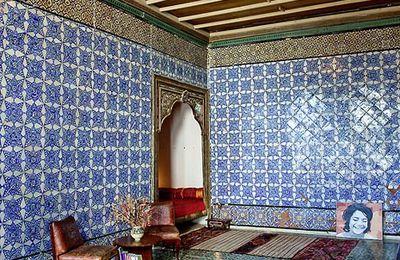 Idée de maison d'hôtes en Tunisie : la Chambre Bleue dans la Médina de Tunis !