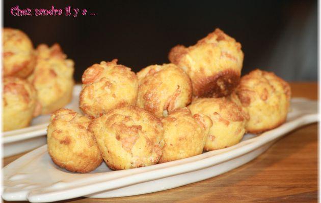 Muffin à la farine de Quinoa, Crevette et Gingembre