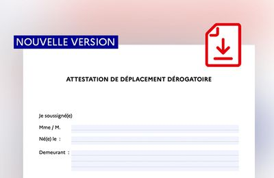 Nouvelle ATTESTATION DISPONIBLE