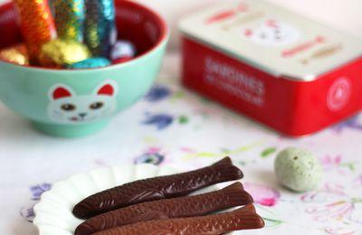 Les petits poissons d'avril au chocolat
