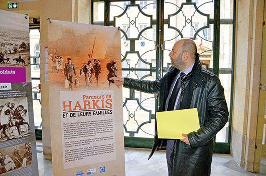 Valoriser la mémoire harkie, Exposition à Pontarlier ( 25)