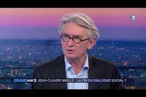 Jean-Claude Mailly : La fin du dialogue social ?