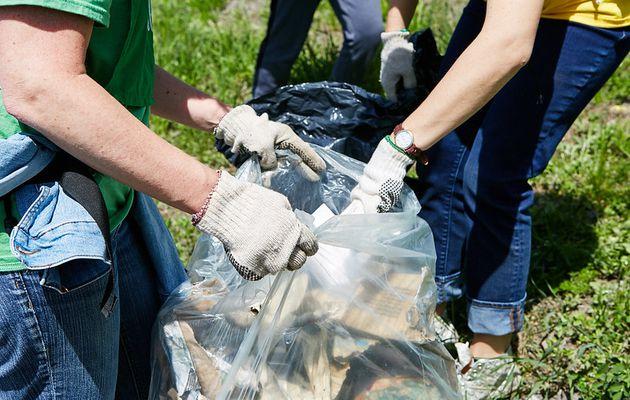 Ramassage des déchets le 29 mai 2021