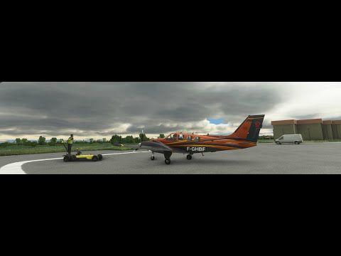 VOL complet de la livraison du Baron 58 F-GHBF...