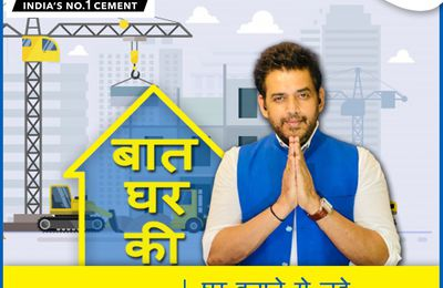 Ravi Kishan turns host for 'Baat Ghar Ki', a show that raises awareness about different aspects of housebuilding