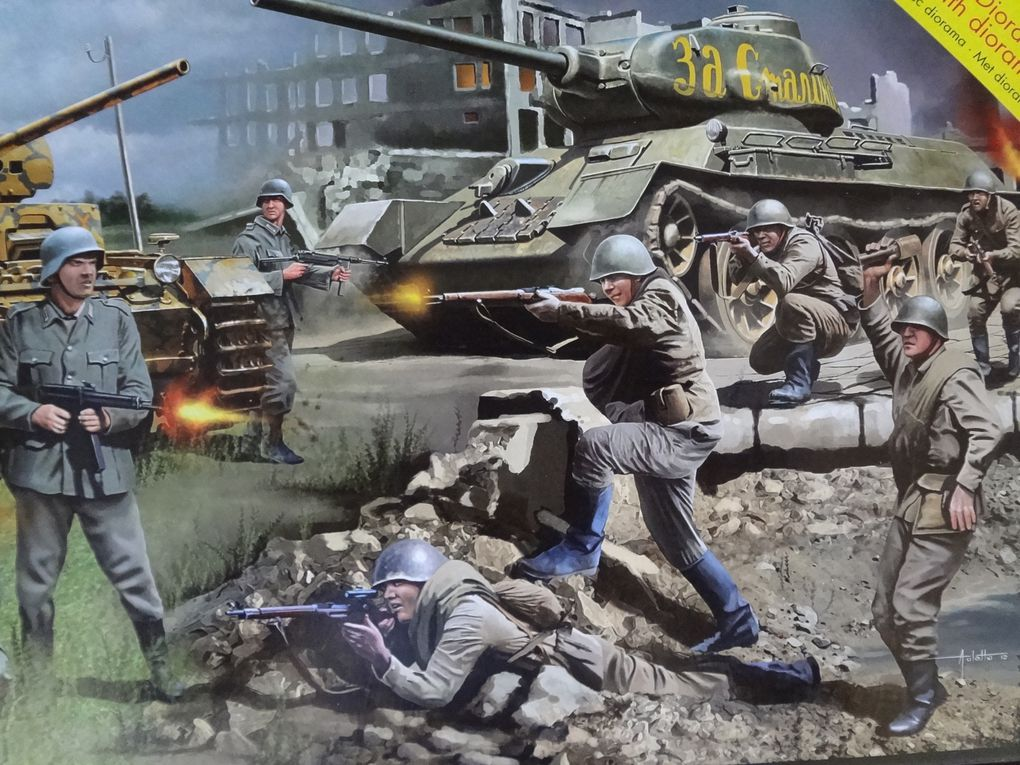 Album - Revell 03189 - Stalingrad battle