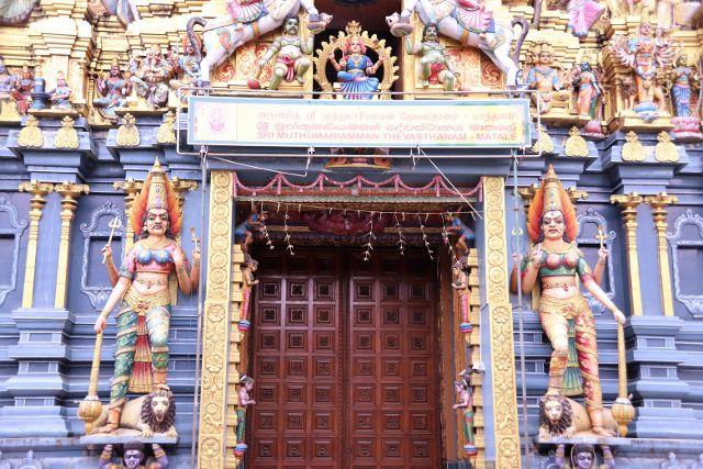 Temple hindou Sri Muthumariamman - Matale - Sri Lanka