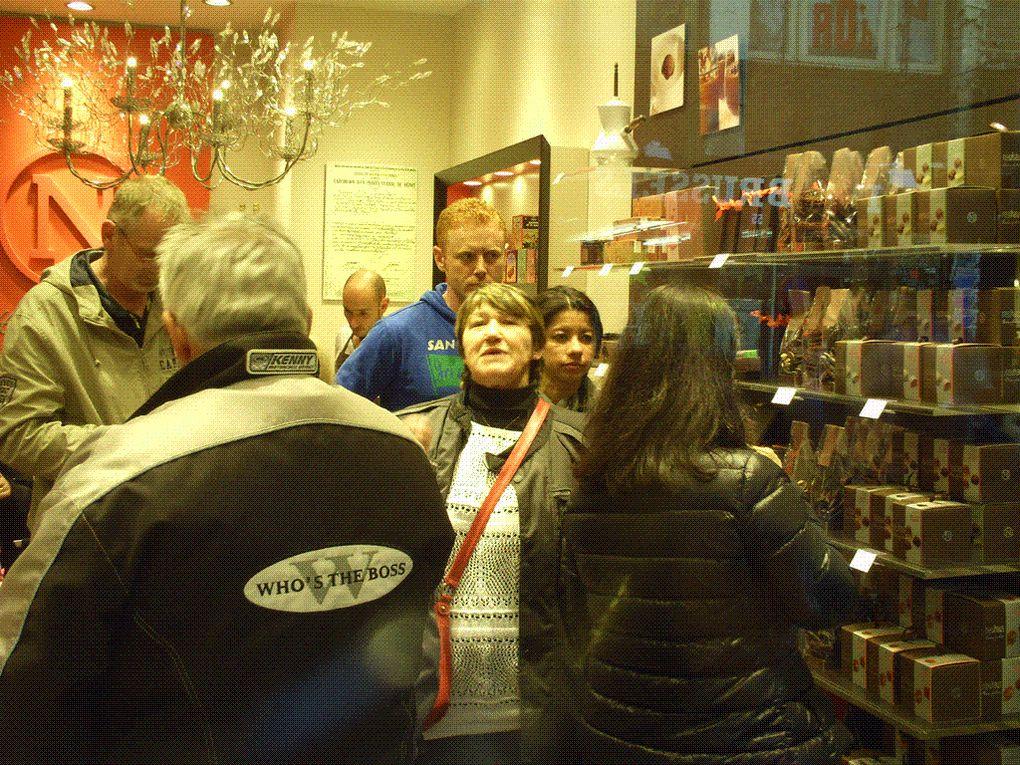 DIAPORAMA 08 PHOTOS - Pays du chocolat Godiva, Neuhaus etc... , de la gauffre en tout genre