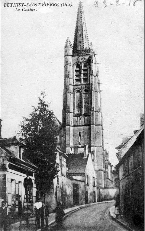 Album - le village de Béthisy-saint-Pierre (Oise), les places, la gare, l'église