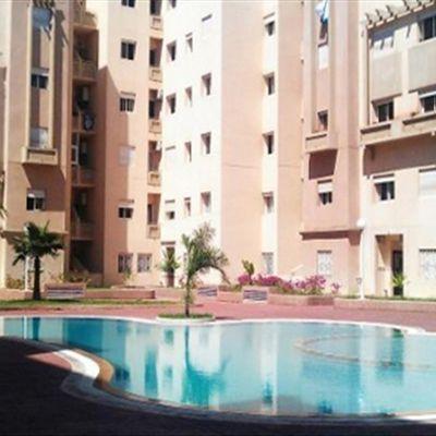 Location appartement vide 75 m² résidence gardée
