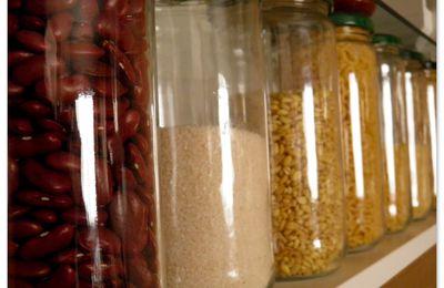 Dans ma cuisine... Des bocaux bien rangés!