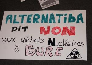 Rassemblement à Clermont-Ferrand contre l'évacuation musclée à Bure