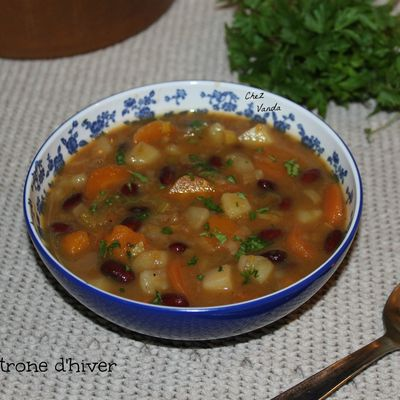 Minestrone d'hiver .