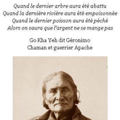 Citation Geronimo: L'apache écolo - Doc de Haguenau
