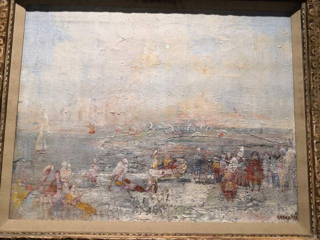 Carnaval sur la plage, huile sur toile, 1897