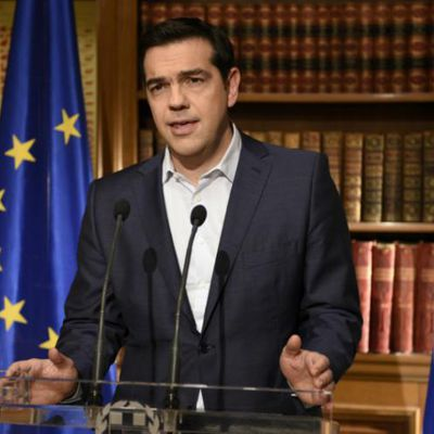 Alexis Tsipras démissionne
