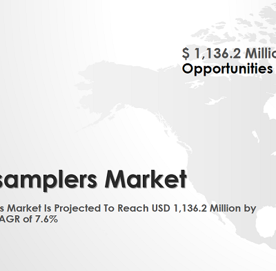 New release: Autosampler Market worth $1,136.2 Million by 2022 .