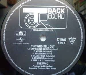 The Who sell out (Track/Decca, 1967)