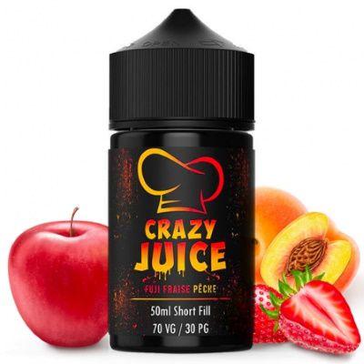 Test - Eliquide - Fuji Fraise Pêche gamme Crazy Juice de chez Mukk Mukk
