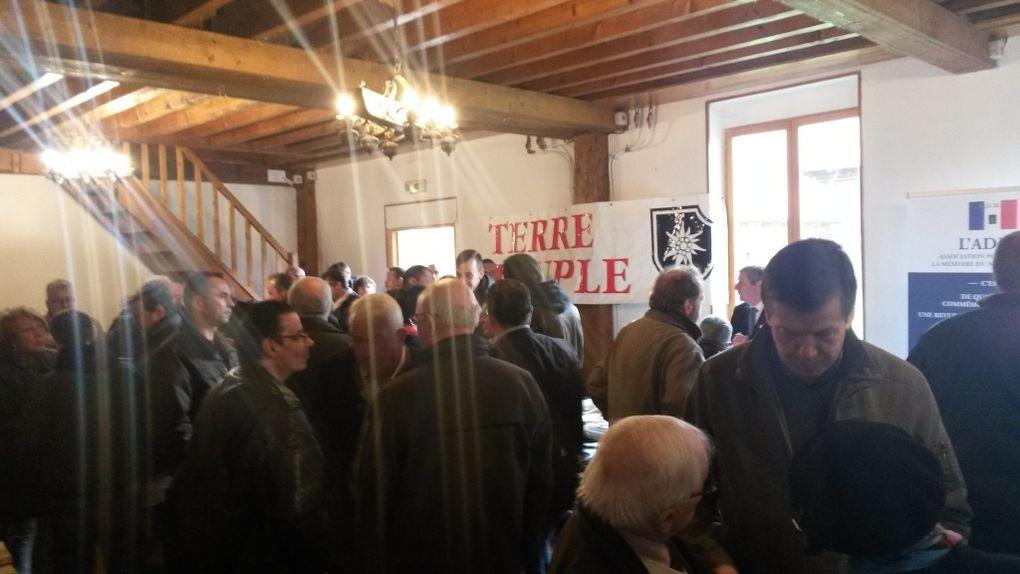Carl Lang et les militants du Parti de la France étaient à Nieppe (59) dimanche 24 avril