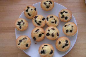petits gâteaux aux raisins
