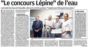 """France - Marseille. """"Le concours """" Lépine de l'eau."""