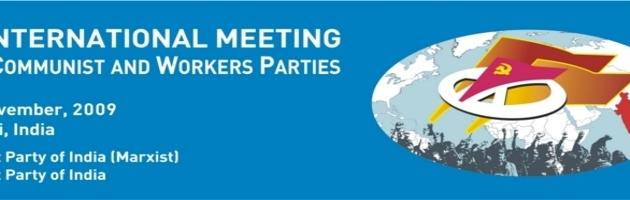Ouverture de la 11ème rencontre des Partis communistes et ouvriers à New Delhi