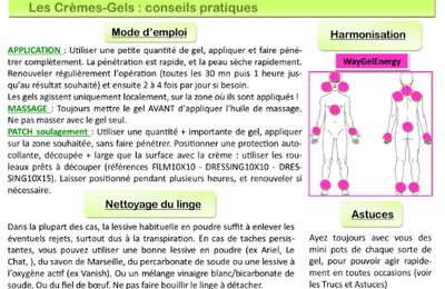 """Natura Plantes®: """"Les Crèmes Gels"""" par André Colinmaire"""