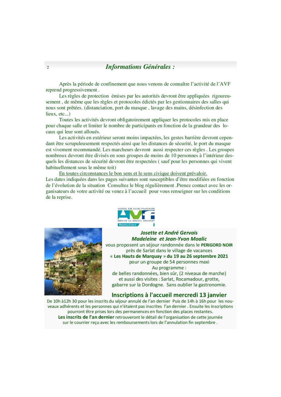 Bulletin Trimestriel 1er trim 2021