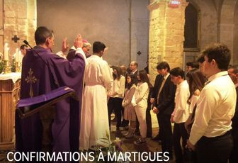 CONFIRMATIONS À MARTIGUES