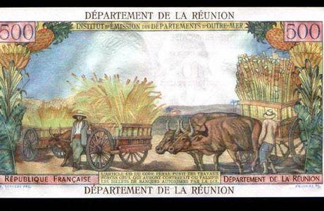 L'histoire de la Réunion à travers les billets de banque (5ème)