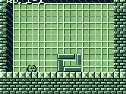 Megalit : un puzzle-game de poids uniquement sur game boy!