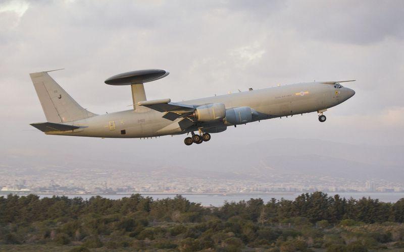 La Royal Air Force déploie un E-3D Sentry AWACS au-dessus de l'Irak et de la Syrie
