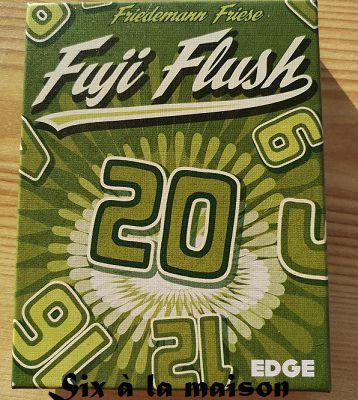 Fuji Flush un jeu de cartes simple et sympa