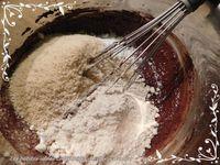 Fondant poire et chocolat healthy sans gluten, sans oeuf ni beurre