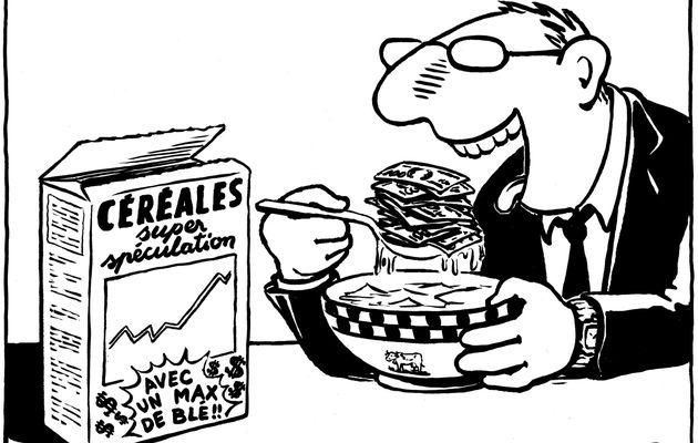 Les banques françaises accusées de spéculer sur la faim