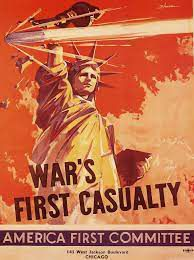 affiche de America first Committy