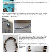 tuto bracelet micro macramé et perles chinoises - Christel et ses perles