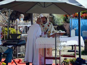 70 ème anniversaire de la grotte Notre Dame d'Algrange