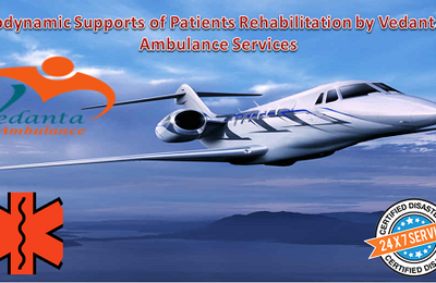 Emergency Availability with the ICU Setup to Shift Patients by Vedanta Air Ambulance in Patna