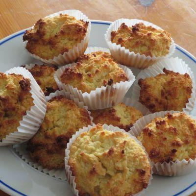 Petits gâteaux à la noix de coco et au yaourt