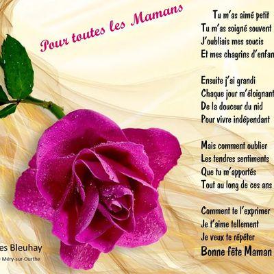 À toutes les Mamans du Monde