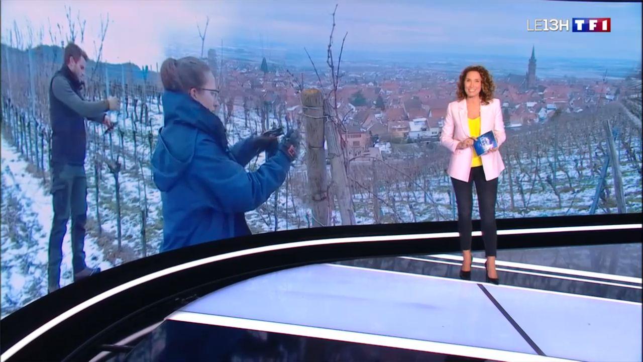 Marie-Sophie Lacarrau Le 13H TF1 le 02.03.2021
