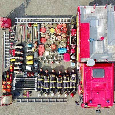 Haute-Garonne (31) - Les pompiers de la Haute-Garonne relèvent le défi du #TetrisChallenge