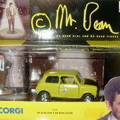 MR BEAN AUSTIN MINI COOPER 1000 CORGI 1/36 - car-collector.net