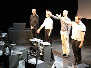 musique Frédérick Cazaux, avec Aurélie Desert, Hadrien Rouchard et Boris Alenstchenkoff